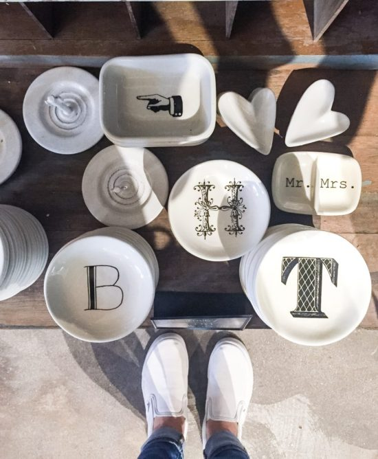 ring dishes at The Foundry Collective