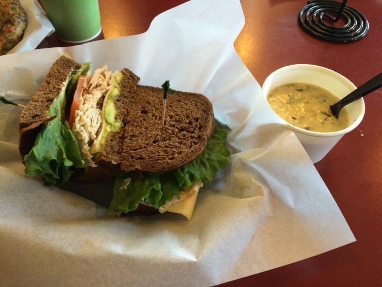 sandwich at Sequoia Sandwich Company in Clovis