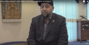 Reza Nekumanesh talks Islam and being a student of religion