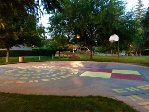 foursquare, hopscotch and other games