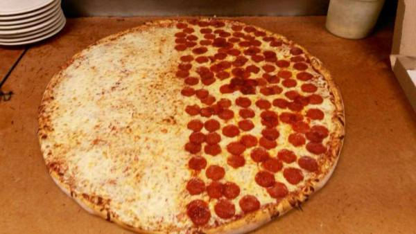Popolo's makes Fresno's only party sized pizza, that serves an entire crowd!