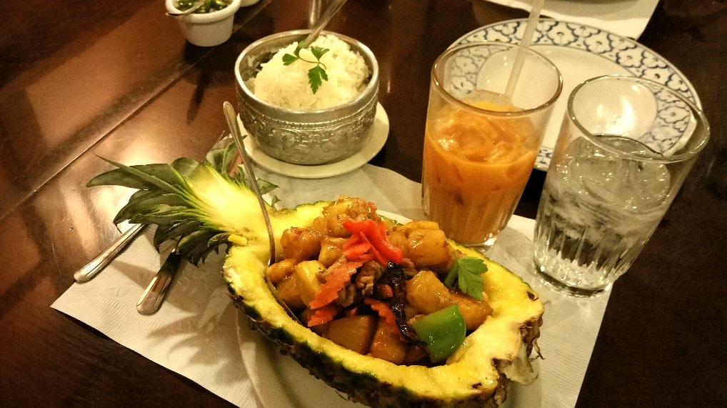 Mmmmm....pineapple.