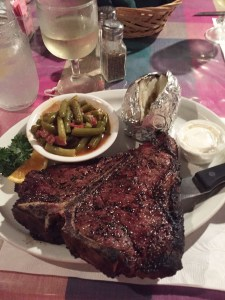 The 23oz. Porterhouse at the Rare Steer Steakhouse
