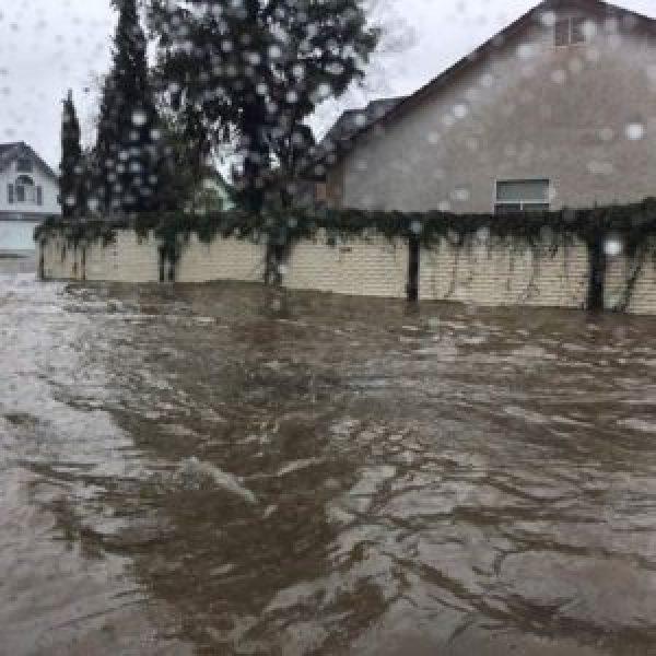 flooding in clovis