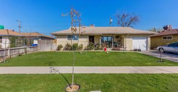 Fresno Home with Workshop and Fruit Trees