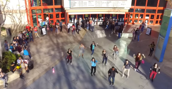 Need a Moment of Joy? Check Out This Flash Mob Proposal at River Park