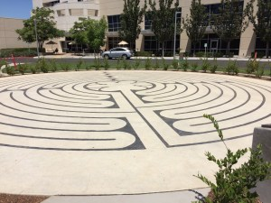 Saint Agnes labyrinth