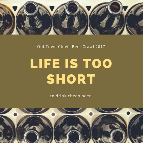 Old Town Clovis Craft Beer Crawl