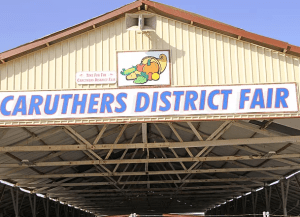 Caruthers District Fair, California's largest free gate fair, is this week