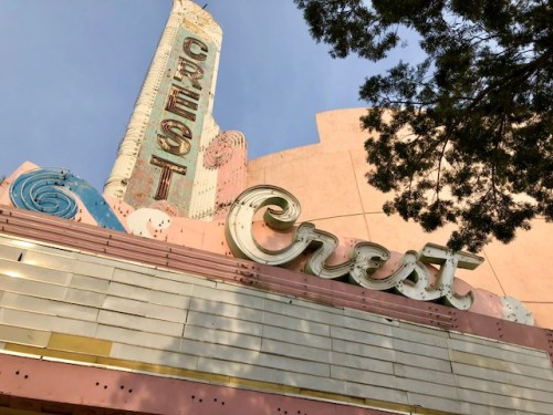 Historic crest theatre