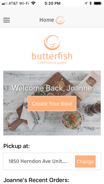 Butterfish app