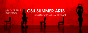 Get tix now for fantastic CSU Summer Arts performances