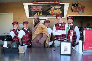 """Coming to Fresno"": Eat McDowell's and watch the Zamunda Lions play Thursday"