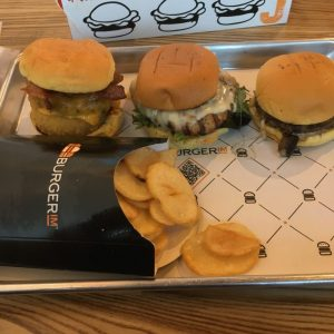 Build your own sliders at Burgerim