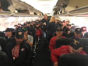 What it's like to accompany the veterans of Central Valley Honor Flight to Washington D.C.