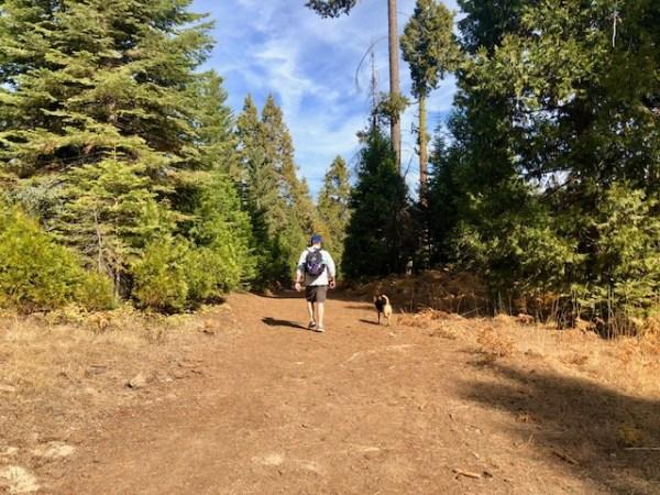 fall day hike