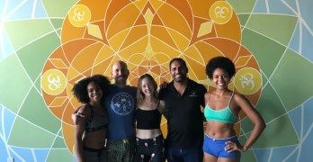 Tower Yoga is about balance, flexibility, and community