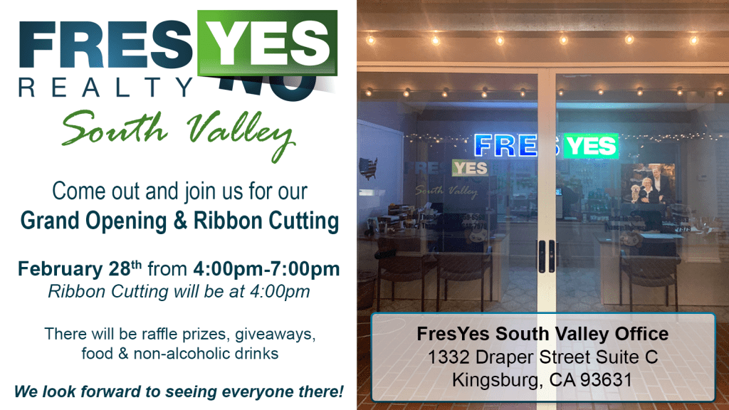 FresYes Realty Expands to South Valley