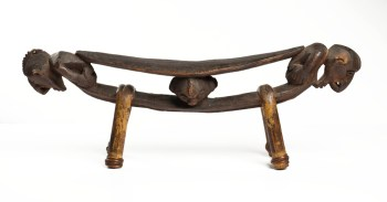 Neck rest, New Guinea, 19th century