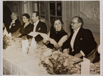 Image of people at the British Psychoanalytic Society 25th Anniversay Dinner