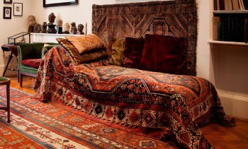 Freud's Famous Psychoanalytic Couch