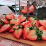 Erdbeer-Topfen (Quark)-Tiramisu mit Limoncello – vegetarisch
