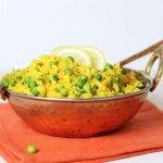Poha – indisches Gericht aus Reisflocken
