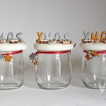 Keks-Gläser als kleines Weihnachtsgeschenk….