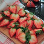 Erdbeer Pfirisch Grenadine Honig Aperitif