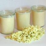 Holunderblüten-Honig-Pudding-Mascarpone-Creme – vegetarisch