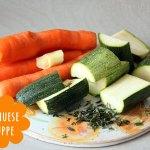 Ratzfatz Gemüsecremesuppe im Hochleistungsmixer
