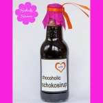 Schokosauce – Schokosirup  & free Printable Etiketten