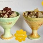Porridge vegan – warmer Haferflockenbrei