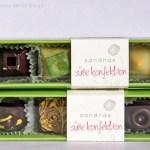 Verkostung: vegane Pralinen Kollektion von Sandras Süßer Konfektion
