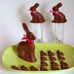 Dunkle Pfefferminz-Schokolade Osterhase – vegan