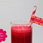 Power Juice aus Roter Rübe, Süßkartoffel, Apfel und Ingwer