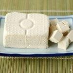 Seiden-Tofu mariniert