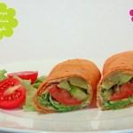 Indianstyle Wraps mit Lemon Hummus & Zucchini