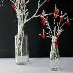 Valentinstags Herz Gesteck – DIY