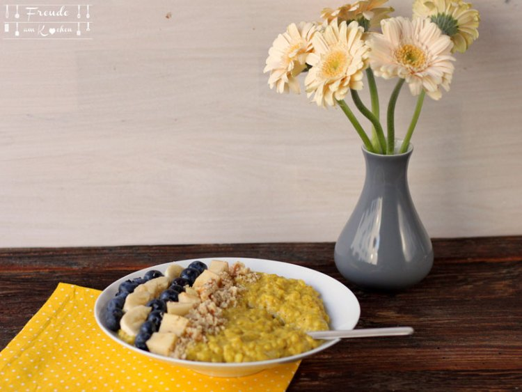 Kurkuma Milchreis zuckerfrei vegan Thermomix - Freude am Kochen