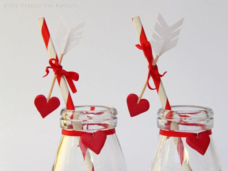 Valentinstag Deko DIY - Freude am Kochen