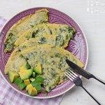 Bärlauch Kichererbsen Omelette