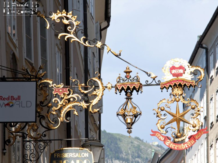 Reisebericht: Salzburg - Freude am Kochen - Getreidegasse