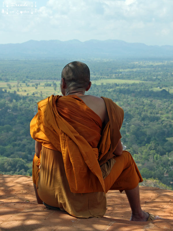 Buddhistischer Mönch - Sri Lanka - Freude am Kochen