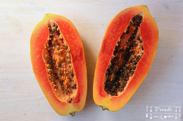 Sri Lanka - Food Haul und Kunsthandwerk Shopping - Freude am Kochen - Papaya