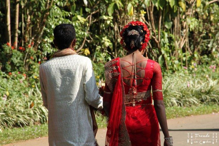 Brautpaar - Kandy - Reisebericht Sri Lanka - Freude am Kochen