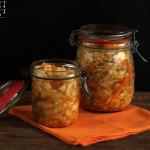 Weißkraut Karotten Kimchi