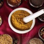 Indische Gemüse Masala Gewürzmischung