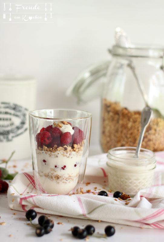 Rohköstlicher Mandeljoghurt vegan selbermachen - Freude am Kochen