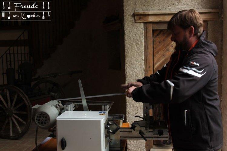 Craftcamp 2017 - Ignatius Messer - Freude am Kochen